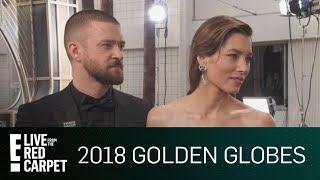 Jessica Biel Talks Justin Timberlake