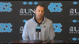 UNC Football: Larry Fedora Weekly Press Conference - 11/20