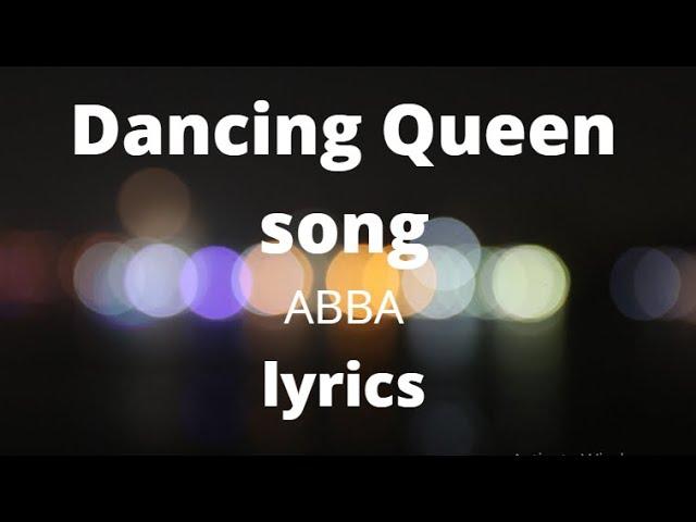 ABBA - Dancing Queen Lirik | Dancing Queen Song - ABBA Lyrics