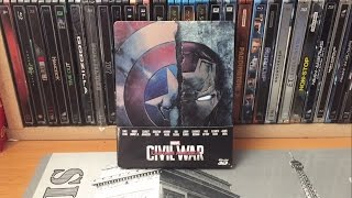Steelbook - Captain America: Civil War (édition Fnac)