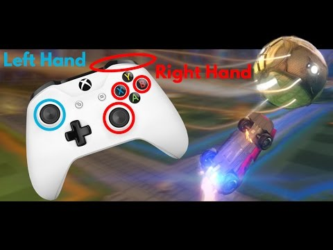 Gameplay of Rocket League w/ Xbox One Controller [Claw Grip]