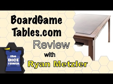 Board Game Tables - with Ryan Metzler
