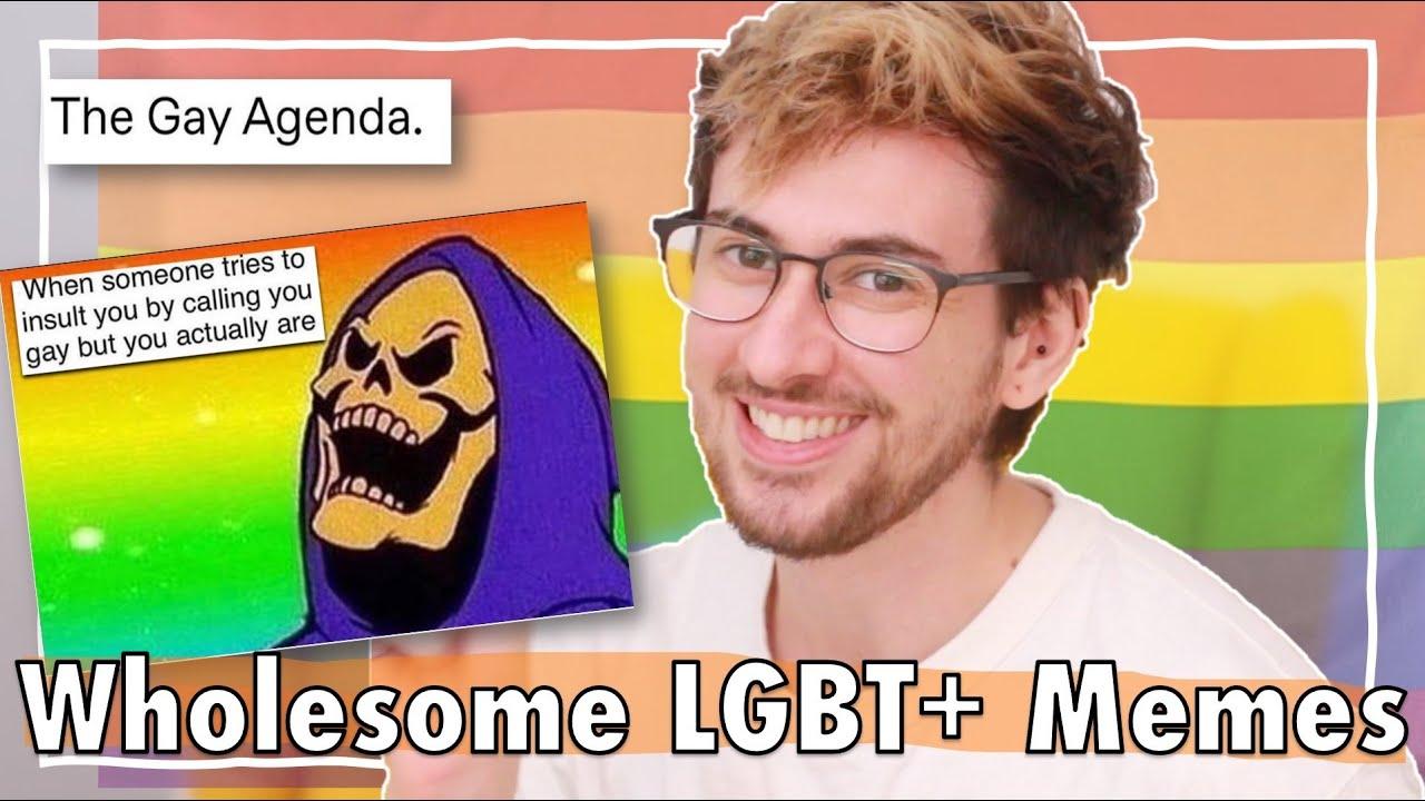 Revealing The Gay Agenda | LGBT+ Memes