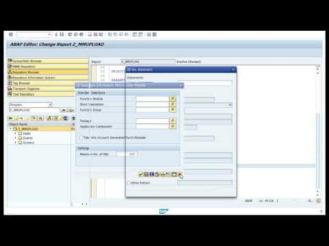 Add a popup in ABAP ( Video 7 )