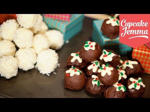 Two Recipes for Christmas Truffles!   Cupcake Jemma