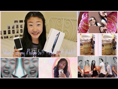 ♡ What's on my iPhone 5s?! How I Edit my Instagram Pics +iPad Giveaway!