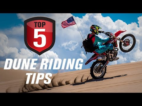 Top 5 Motorcycle Sand Dune Riding Tips