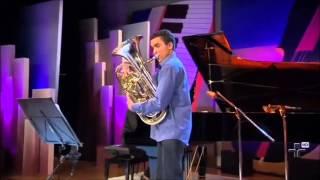 Compositor: James Curnow Obra: Rhapsody for Euphonium Euphonium: Otoniel dos Santos Piano: Cecília Moita