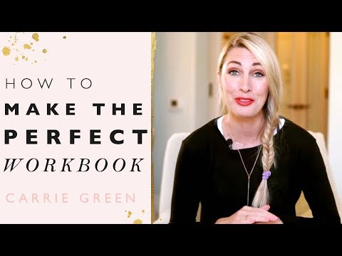 How To Make The Perfect Workbook To Grow Your Email List!