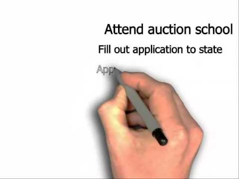 How to get an Auctioneer license in Florida