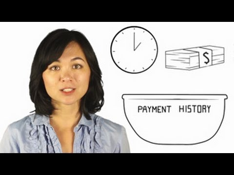 How does payment history affect your credit score