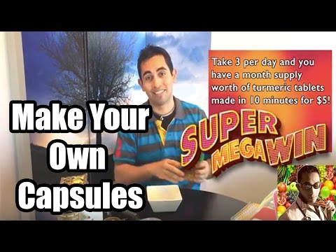 How To Make Capsules - Make Your Own Epic Supplements at Home!