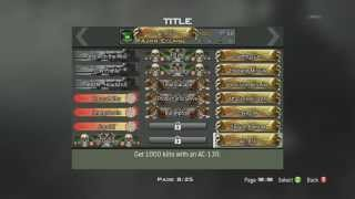 call of duty mw3 titles