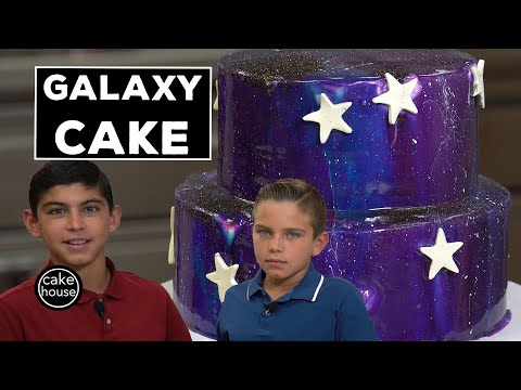 How to Make a Galaxy Cake the Cake Boss Way | Welcome to Cake Ep03
