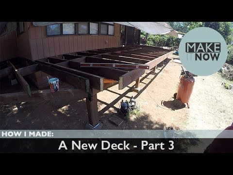 How I Made: A New Deck - Part 3