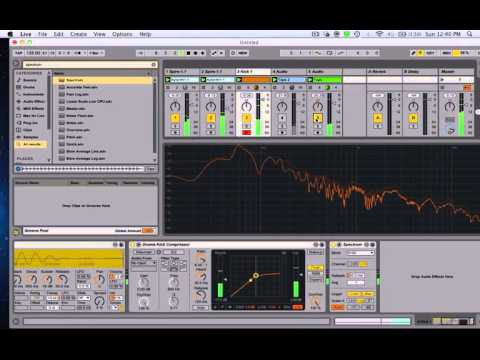 Ableton live 9 Tutorial: How to Tune Your Kicks In Key