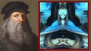 Strange Aliens in Da Vinci