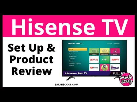 Hisense TV Set Up and Review