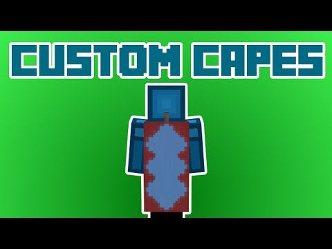 CUSTOM CAPES in Minecraft 1.8! NO MODS!