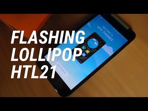Flashing Lollipop on HTL21 ( HTC Butterfly J )   Hudan Achmad #12
