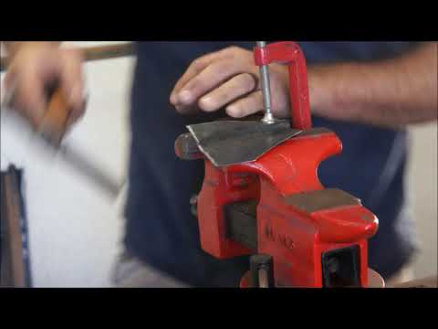 forming metal with basic hammers and dollies
