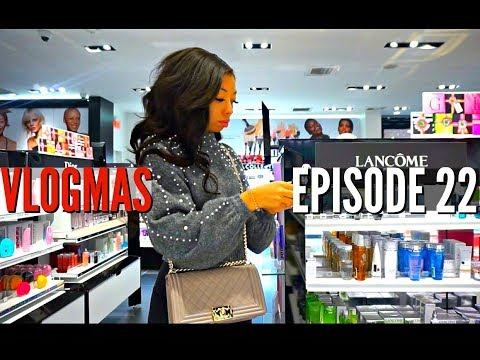 LAST MINUTE CHRISTMAS PRESENT SHOPPING WITH ME + SICK AGAIN | VLOGMAS DAY 22
