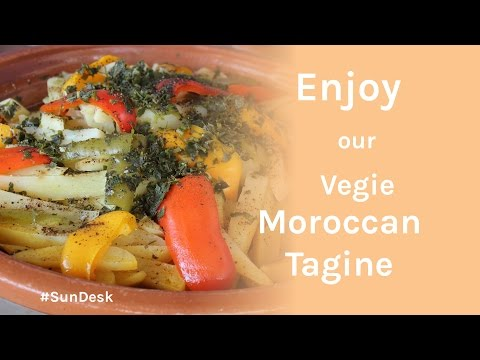 Vegetarian Tagine - Cooking with Zahra