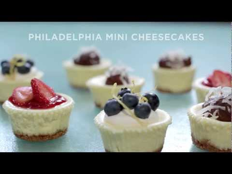 Mini Cheesecakes Recipe | PHILADELPHIA Cream Cheese