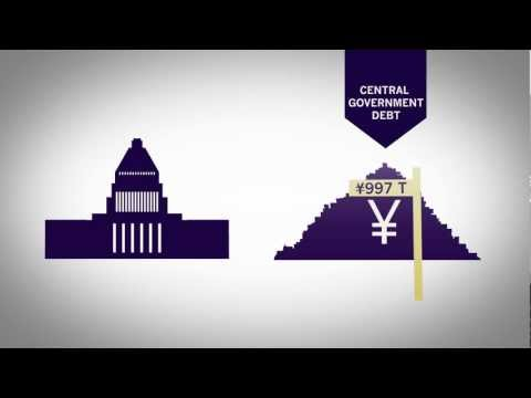 Japan's Debt Problem Visualized