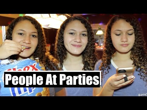 5 Types Of People At Parties