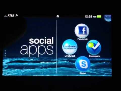 More of the YouTube app and Custom Screen Saver or theme on the PS Vita
