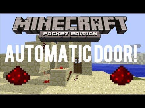 Minecraft: Pocket Edition Automatic Door