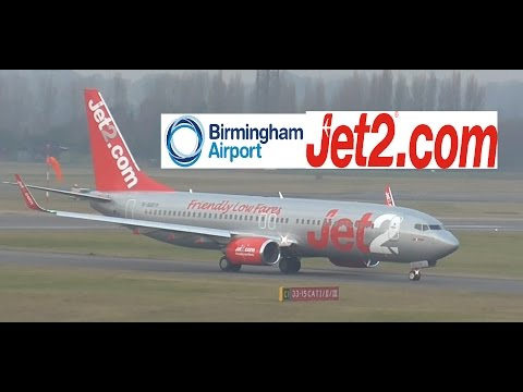 Jet2 Flight 631 (Manchester to BHX)