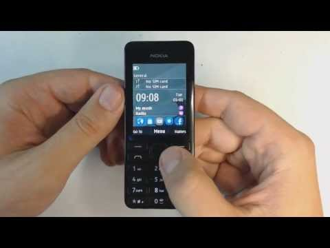 Nokia 206 factory reset