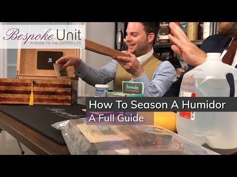 How To Season A Wooden Humidor: Best & Worst Methods For Preparing Your Humidor