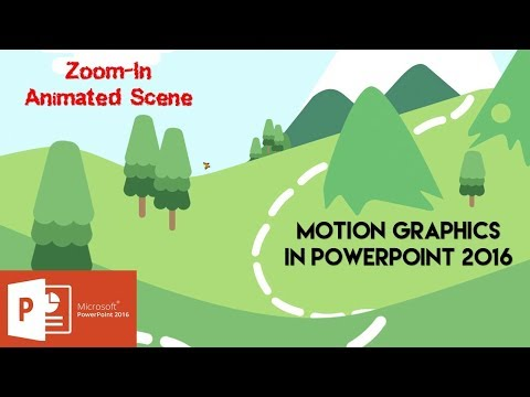 How to Create Zoom In Animated Scene in PowerPoint 2016 Tutorial | The Teacher