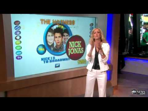 Nick Jonas Broadway Bound