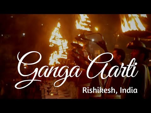 Ganga Arati at Rishikesh | Triveni Ghat | Trip to Rishikesh, India