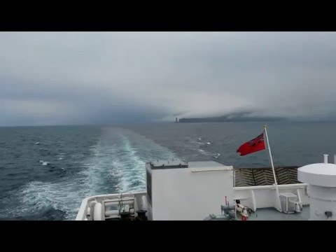 Ferry ride from Stromness, Orkney to Scrabster, Scotland