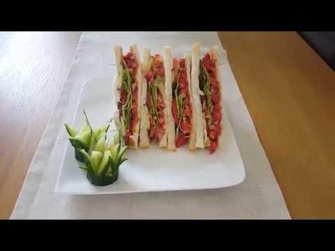 How To Make Tandoori Chicken Tikka Sandwich