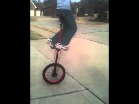5 foot unicycle free mount