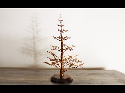 How to make a Pine Wire Tree.