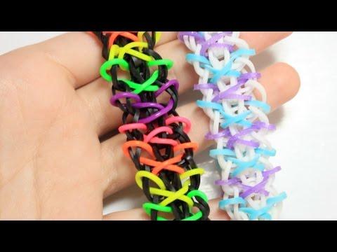 Xylia Bracelet Tutorial | Rainbow Loom | One Loom