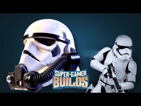 Starwars Battlefront Storm Trooper & Rebel Commando Helmets - Super Gamer Builds