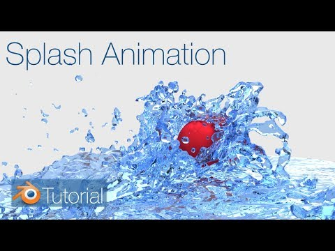 Blender Tutorial: Splash Animation