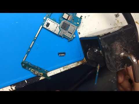 Como trocar conector de bateria j320