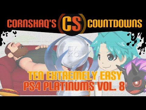 10 EXTREMELY EASY PS4 PLATINUM TROPHIES VOL 8