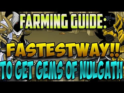 ~Aqw~ Fastest Way to Get GEMS of NULGATH!! - TOP 3 METHODS!! - Which Is the FASTEST?