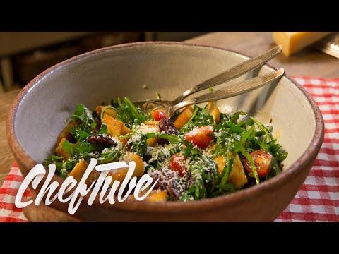 How to Make Italian Bread Salad - Recipe in description
