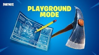 PLAYGROUND MODE | AVAILABLE NOW